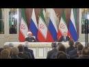 Дружелюбные соседи Россия и Иран