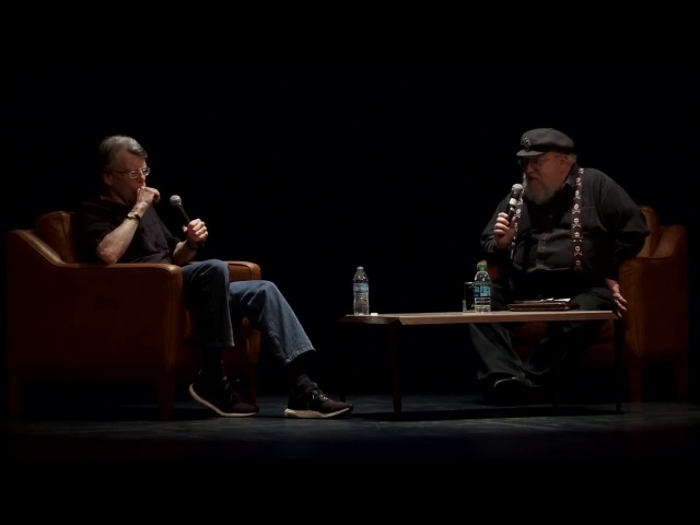 George RR Martin asks Stephen King How do you write so Fast!