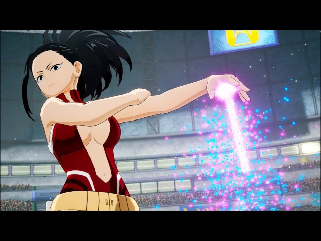 My Hero Academia: One's Justice - Momo, Froppy Kaminari Characters NEW HD SCREENSHOTS! (1080p)