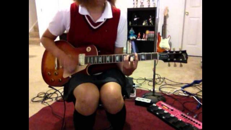 K On Fude Pen Boru Pen Guitar Cover