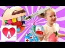 Пластилин Плей До Видео для детей Набор ДОКТОР ЗУБАСТИК делаем брекеты