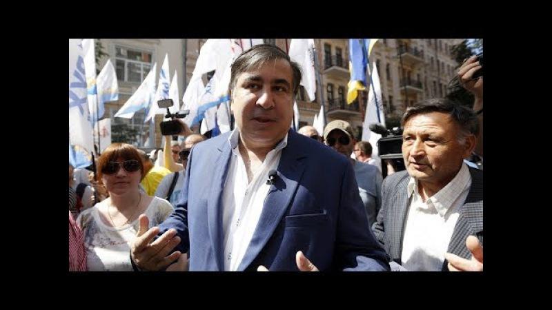 Саакашвили: Система дала сбой, нас поддержали уже несколько облсоветов, власть в...