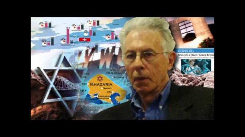 Red Ice Radio - Kevin MacDonald - Hour 1 - Refuting the Khazar Theory Occidental Observations