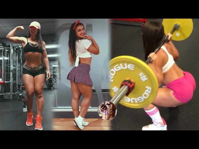 Debora Marinho - Entrenamiento Piernas, Sentadillas, Muaythai Workout Motivation @Brazilian » Freewka.com - Смотреть онлайн в хорощем качестве