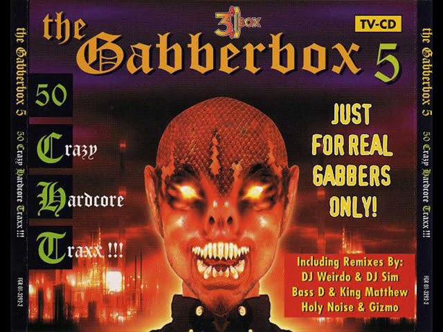 GABBERBOX VOL. 5 [FULL ALBUM 220:21 MIN] HD HQ HIGH QUALITY 1997 50 CRAZY HARDCORE TRAX