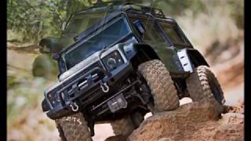Land rover defender rc Traxxas TRX 4 Scale and Trail Crawler