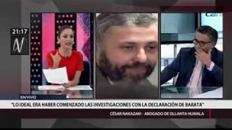 Nakazaki Testimonio de Barata es acuerdo de inmunidad nunca publicado entre Fiscalía del Perú
