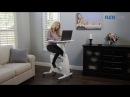 Flexispot Exercise Desk Bike Home Office Height Adjustable Standing Desk Cycle Deskcise Pro