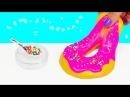 РЕАЛЬНАЯ ЕДА ЛИЗУН ПОНЧИК Donuts DIY | АНТИСТРЕСС ЛИЗУНЫ КАК В ИНСТАГРАМ (Instagram)