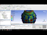 Tutorial Explicit Dynamics in Ansys 18 - Explosion grenade (Part 1)