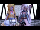 【MMD Fnaf】Work Bitch 【Toy Chica and Mangle】