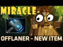 Dota 2 7 07b Miracle Treant Protector Offlaner with Meteor Hammer