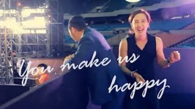 You make us happy Jang Keun Suk
