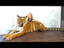 Обычная Еда против Мармелада НАМ ПОПАЛСЯ ТИГР ! Леопард чуть не ЗАБРАЛ КАМЕРУ У ПАПЫ Николь