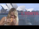 Margot Robbie tucks into a foot long sub