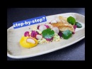 The Rabbit Plating by paintingfood Rabbit pumpkin cauliflower chorizo radish Plate food