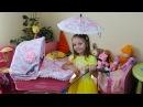 КОЛЯСКА для кукол с зонтиком НОВЫЕ ИГРУШКИ Вещи для БЕБИ БОН Toys for kids Baby doll для девочек