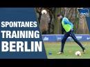 SPONTANES TRAINING IN BERLIN - Hertha BSC - Berlin - 2018 hahohe