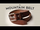 Thick Leather Mountain Belt by Craft and Lore