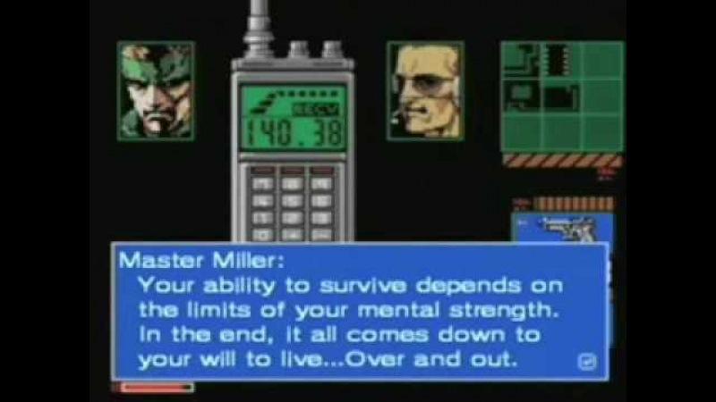 Metal Gear 2 Solid Snake MSX Trailer