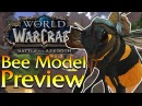 Bee Mount NPC Pet Weapon In Game Preview Speculation World of Warcraft
