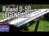 Roland D-50 Linear Synthesizer demo  Legendary sounds revisited