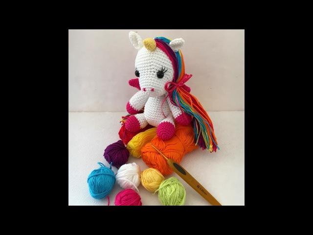 Como tejer Unicornio By Petus PRIMERA PARTE