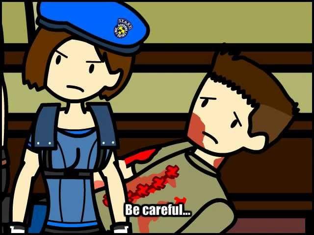 Resident Evil 1 Parody - Part 2