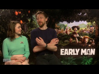 Tom Hiddleston Beatboxes For Maisie Williams During 'Early Man' Interview | IMDb EXCLUSIVE