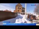 Вести-Москва • В Ленинском районе Подмосковья жители задыхаются от запаха сточных вод