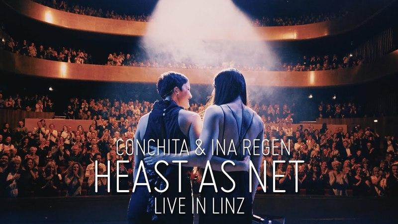 CONCHITA INA REGEN – HEAST AS NET live in Linz (Hubert von Goisern Cover)