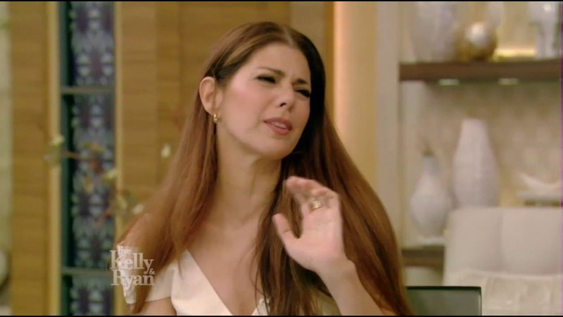Marisa Tomei Complete Interview on Live with Kelly and Ryan with guest co-host Cat Deeley 2017