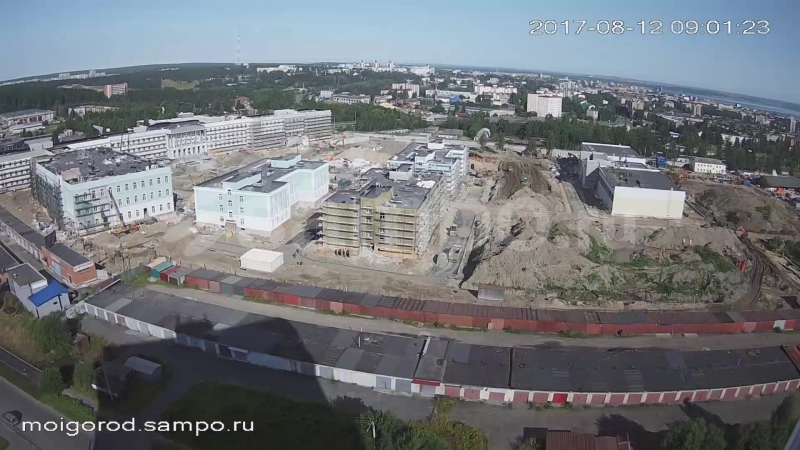 Как строили Президентское кадетское училище в Петрозаводске