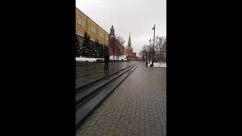 Александровский сад.могила неизвестного солдата.