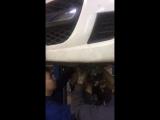 Peugeot 107 Замена сцепления на РКПП