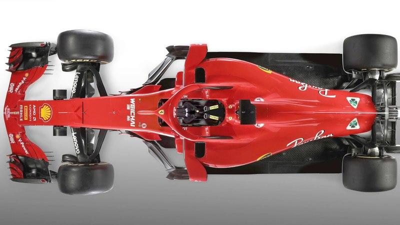 Феррари в Формуле-1 2018 переднее антикрыло