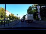 Авто прогулка по Берлину _ Driving in Berlin 2017_ Strausberger Platz - Prenzlauer Promenade