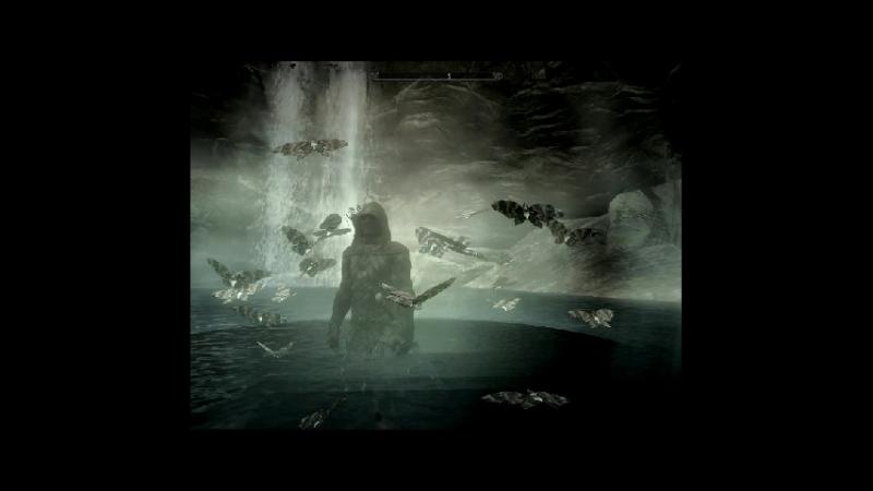 Скайримский клип на песню