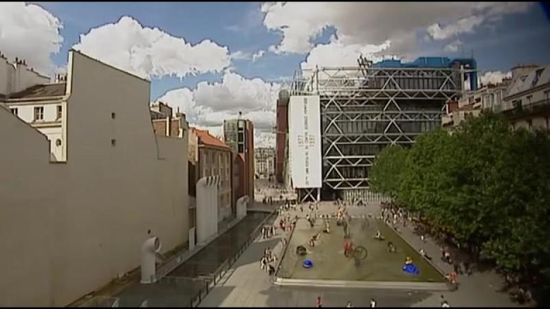 Архитектурные шедевры ХХ века. 05 - Renzo Piano Richard Rogers - The Georges Pompidou Centre
