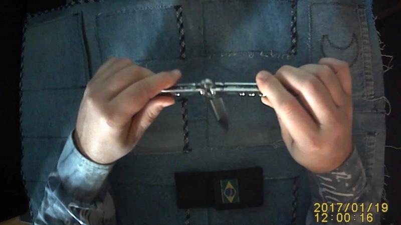 Нож бабочка. Кастомный нож душевной остроты от Rick Lala (Korth)