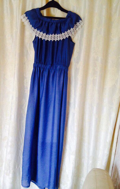 Платье цветочное в пол 42-44р 750рПлатье синее в пол 42-44 500рПлать