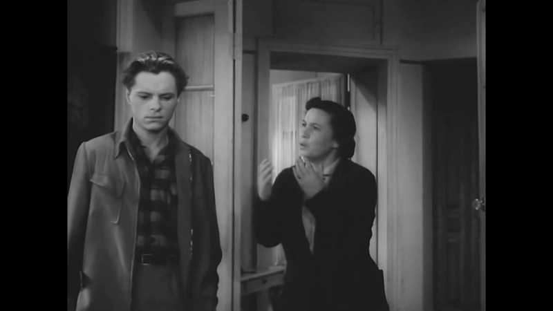 «В добрый час!» (1956) - мелодрама, реж. Виктор Эйсымонт
