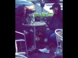 Рианна в кафе Cafeteria Boston, Бостон (03.06.2018)