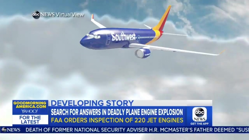 The FAA taking action investigating what caused that fatal tragedy on a Southwest flight are more planes at risk