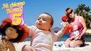 Giochi sulla spiaggia - Tutti al mare - Video con bambini piccoli