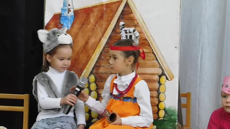 Вепсская сказка 2017, Рыбрека. Детский сад