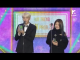 BTS SUGA & SURAN Win Hot Trend Award @ Melon Music Awards 2017 171202.mp4