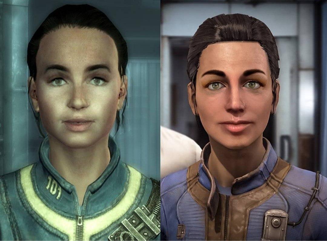 Фанат воссоздал персонажей из Fallout 3 и Fallout New Vegas в Fallout 4