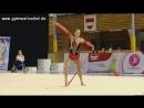 Полина Хонина лента многоборье Этап Гран при 2017 Брно
