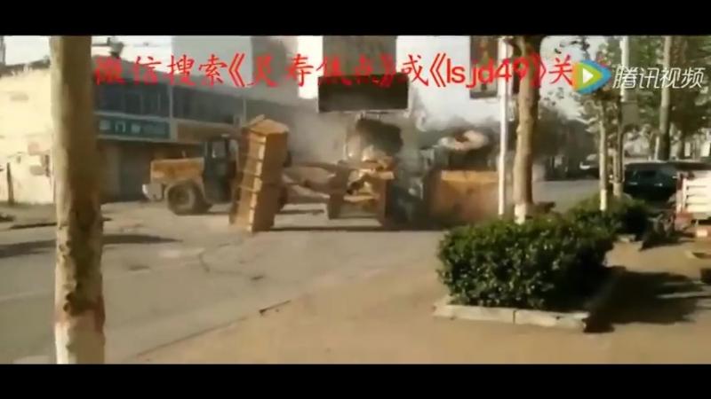 Разборка китайских строителей
